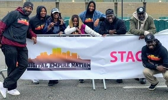 Digital Empire Djs at the Strides for Breast Cancer Walk