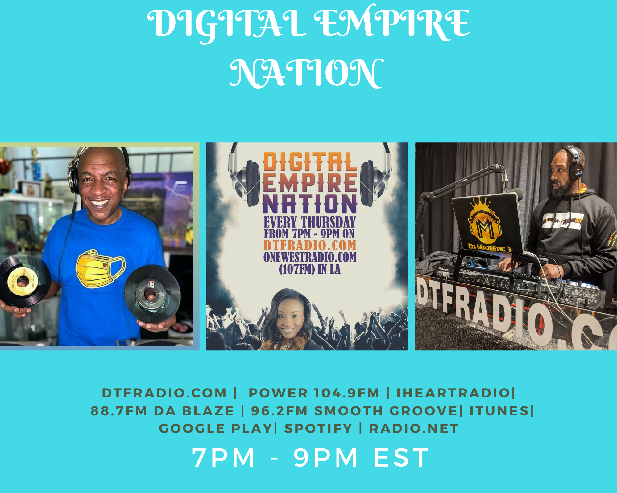 Special guest Ralph Mcdaniels of Video Music Box